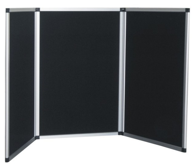 3 Panel Velcro Presentation Display Board