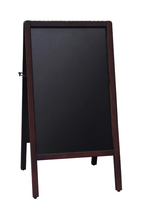 A-Frame Antique Sidewalk Menu Chalkboard Easel