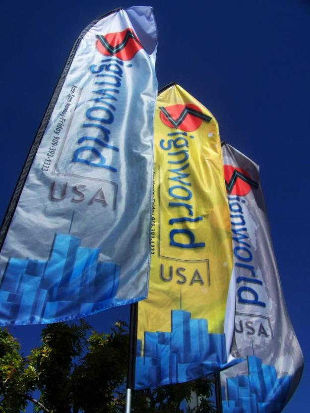 Advertising Fabric Flags