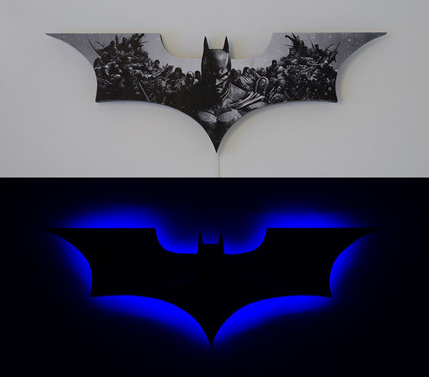 batman LED sign