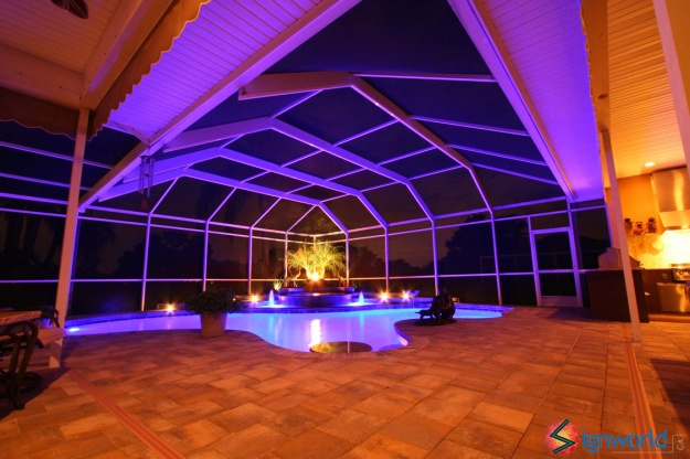 deluxe-design-home-pool-ceiling-led-lighting